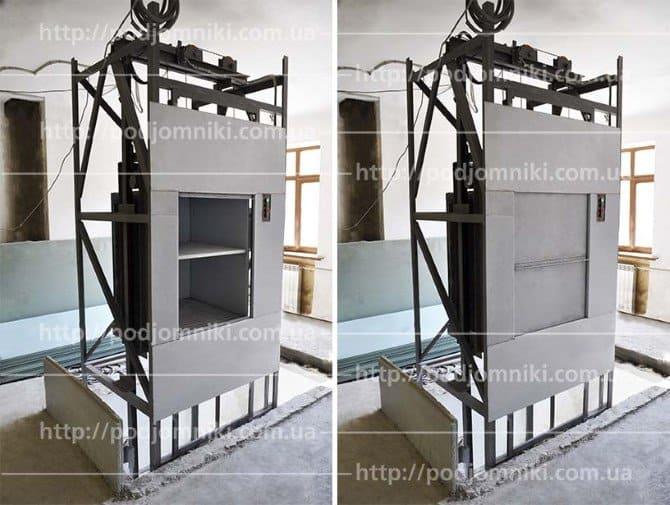 вертикальный подъемник для кухни