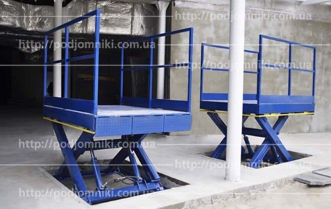 подъемные столы ножничного типа